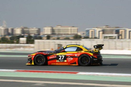 Platz 6 beim Dunlop 24h Rennen Dubai