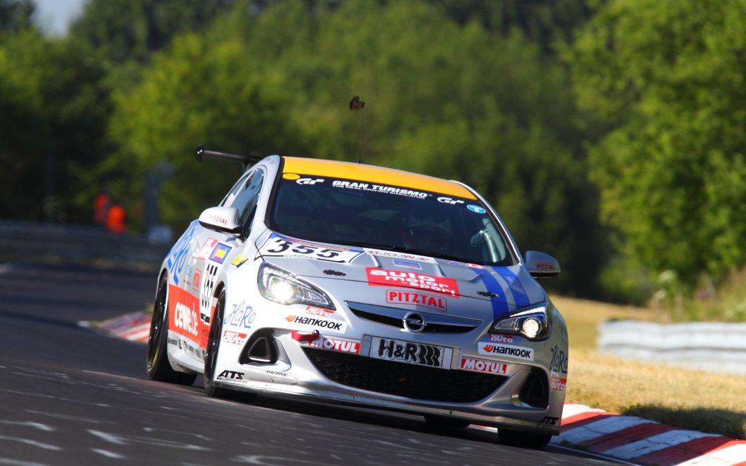 3. Rang Opel Astra OPC Cup beim vorletzten Saisonlauf