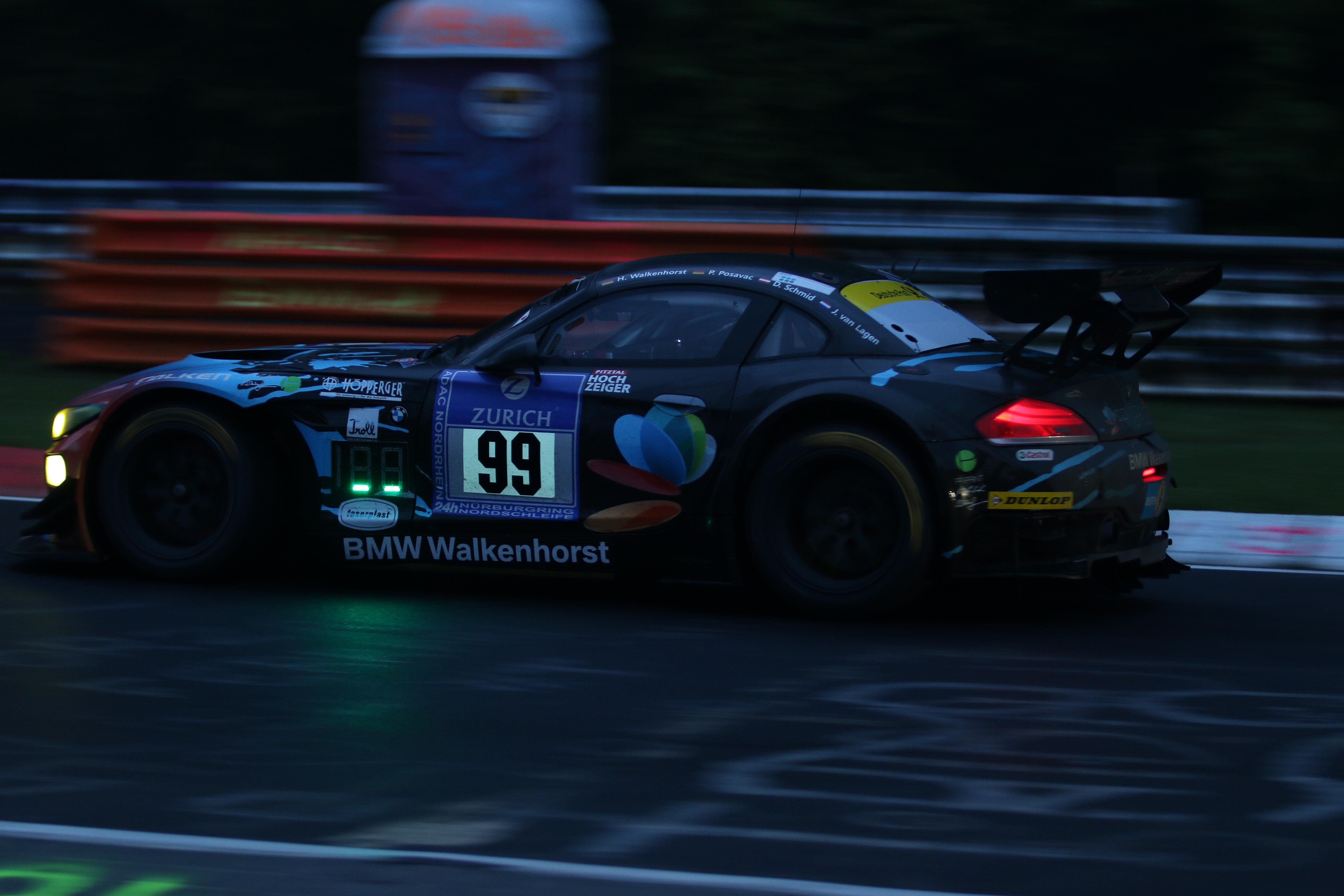 Pech für Daniela Schmid beim 24h Rennen am Nürburgring