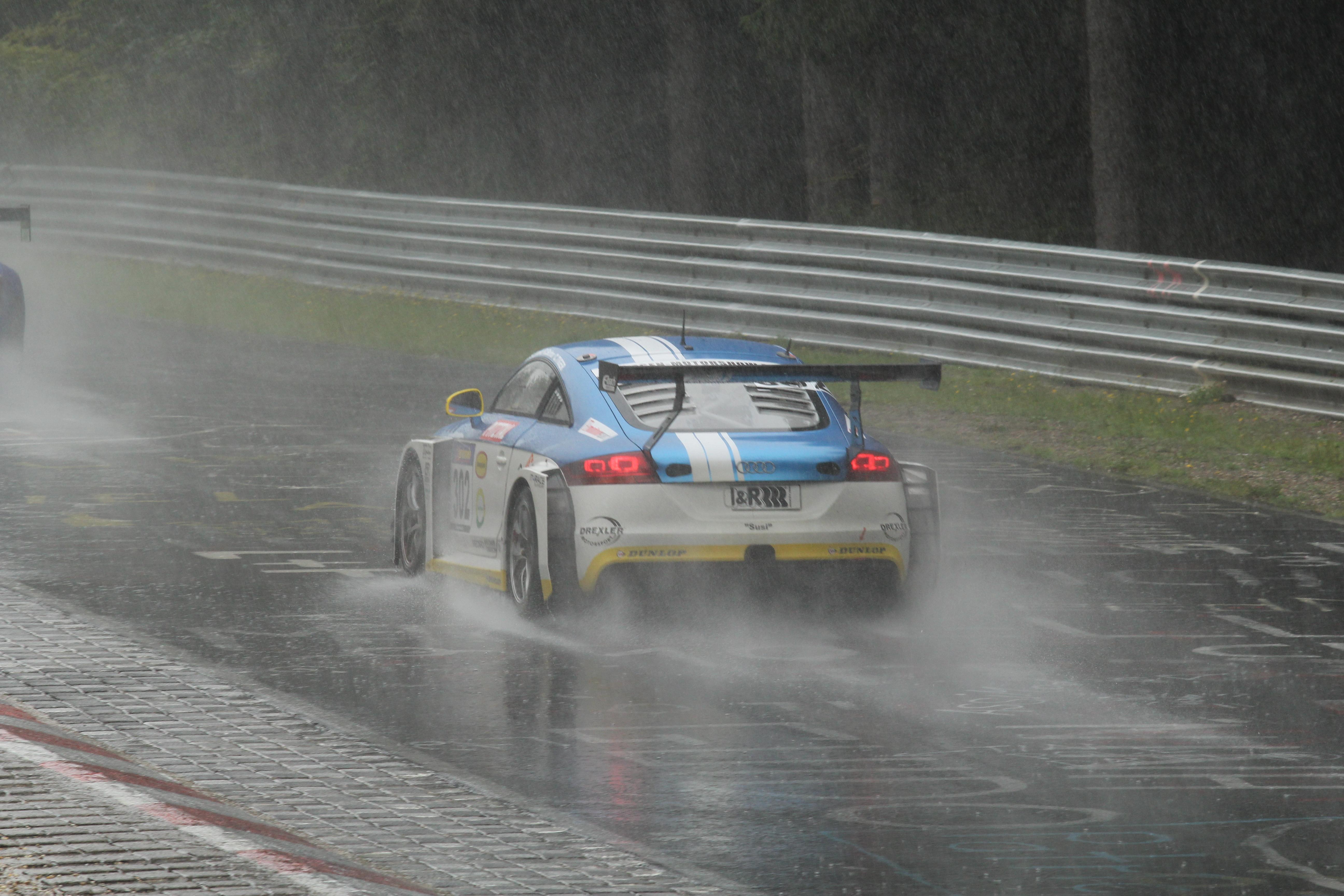 Platz 2 und Gesamtrang 8 im Audi TT RS für Daniela Schmid