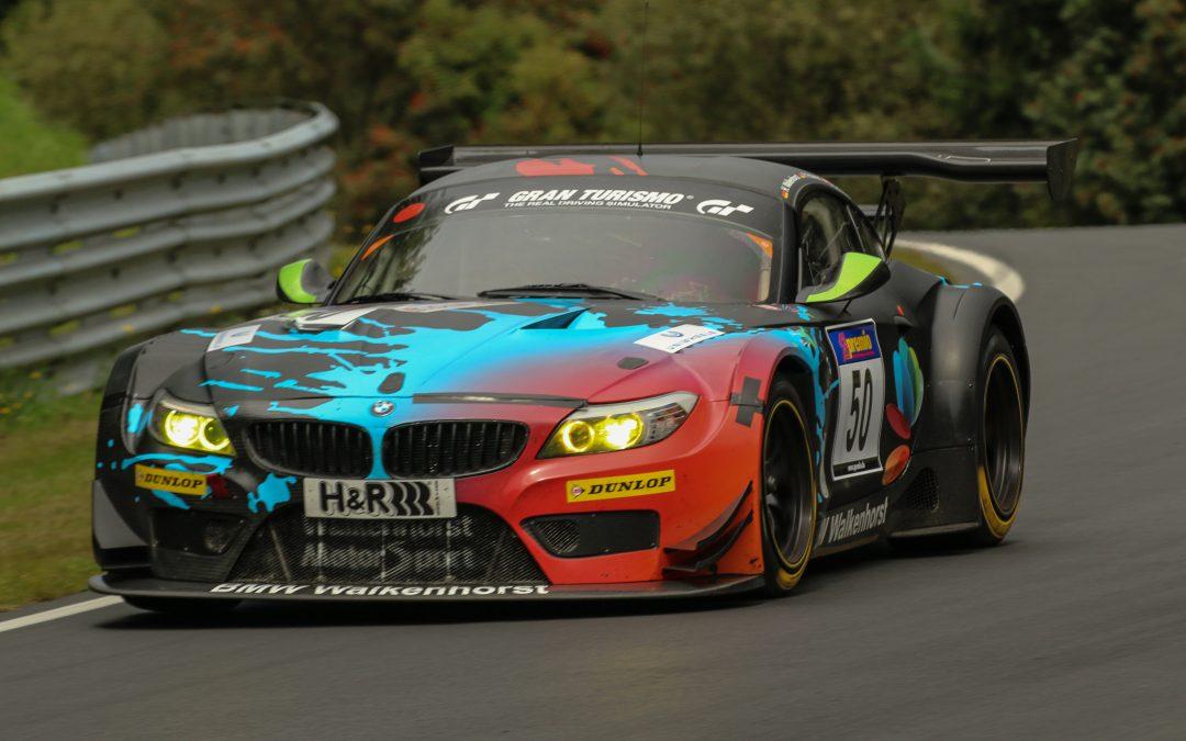 Platz 8 für Daniela Schmid im BMW Z4 GT3