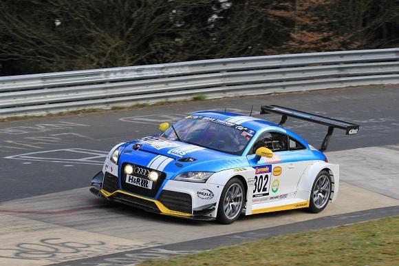 Erfolgreicher Start im Audi TT RS